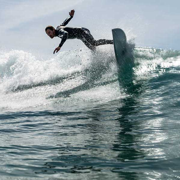 Surfing at surf school and shop jersey