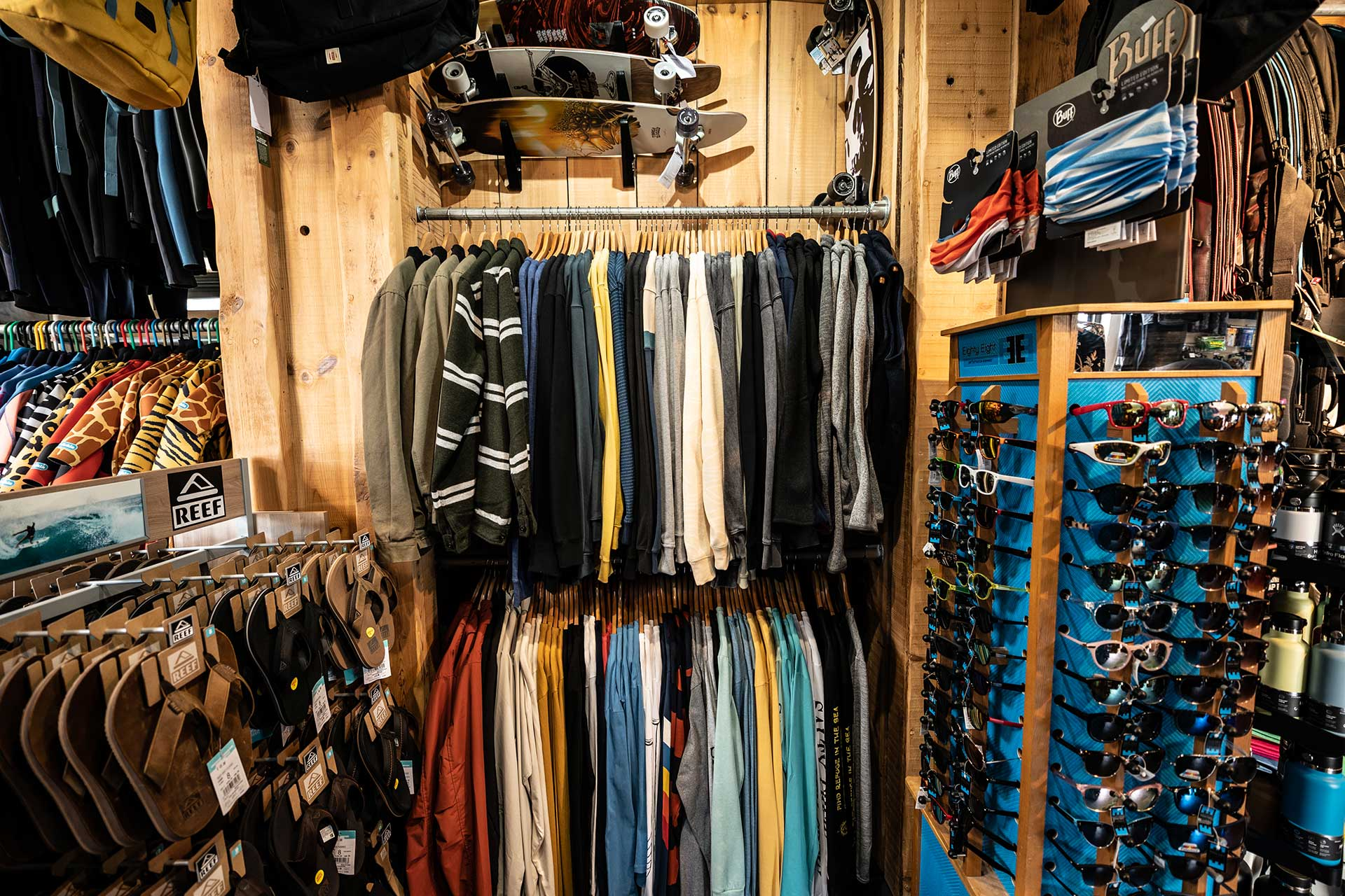 surf clothes for men and women in jersey